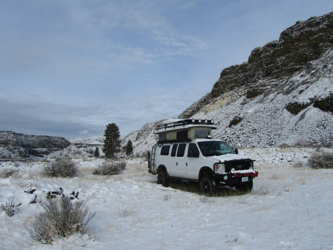 Moby Goes to the South Fork of the Boise River