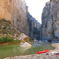 Moby Goes to Santa Elena Canyon