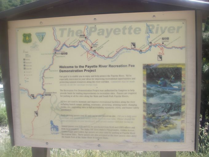Payette sign