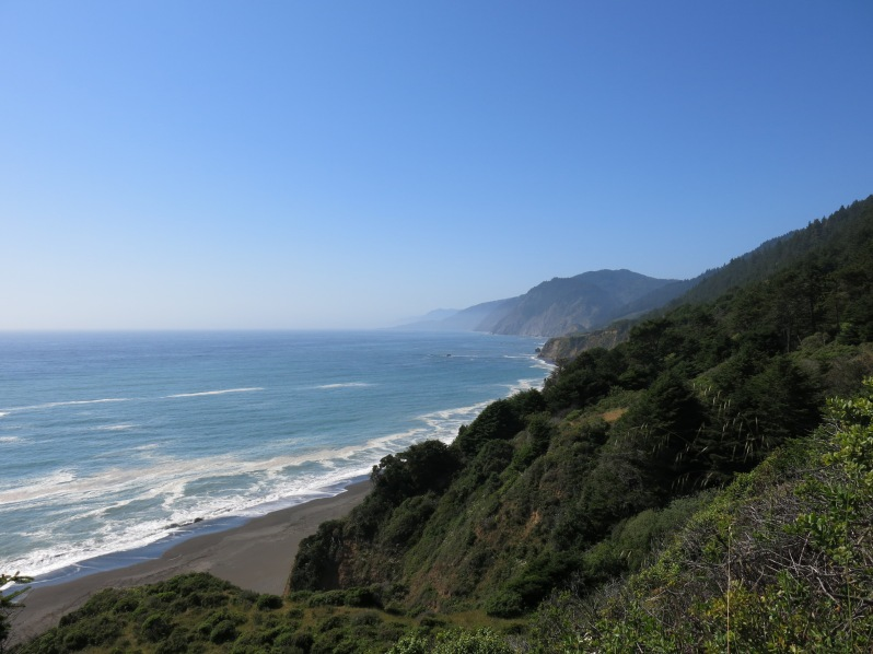 There's no shortage of views like this while hiking the Lost Coast.