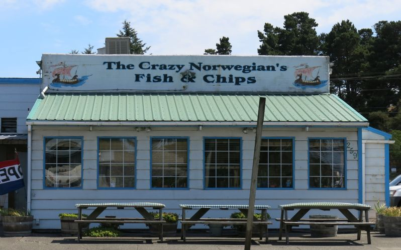 Eat here in Port Orford. Yum!!!