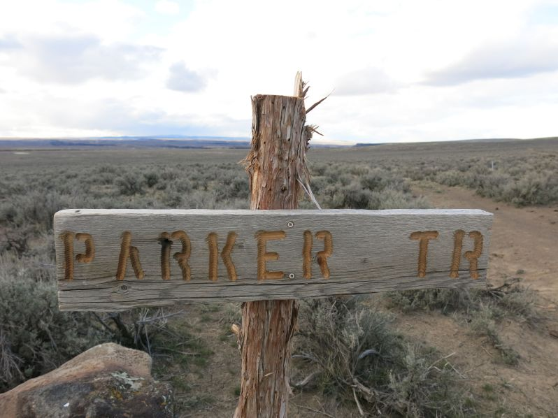 The Parker Trail provides access to the bottom of Big Jack's Canyon via a good trail. It's about 2.5 miles out and back.