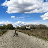 Moby Goes to the Weiser River Trail