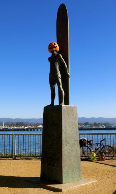Halloween Surfer, Santa Cruz